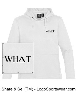 WHAT HOODIE Design Zoom